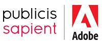 Women Leading Tech Awards Partners and sponsors - publicis sapient | adobe logo
